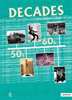 Decades Discussion Cards: 1st Edition (Flashcards) book cover