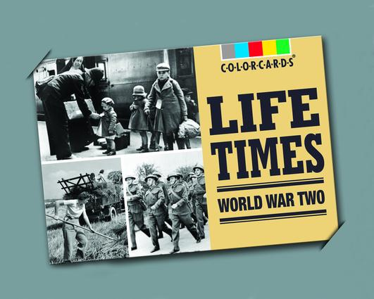Life Times: Colorcards: World War II, 1st Edition (Flashcards) book cover