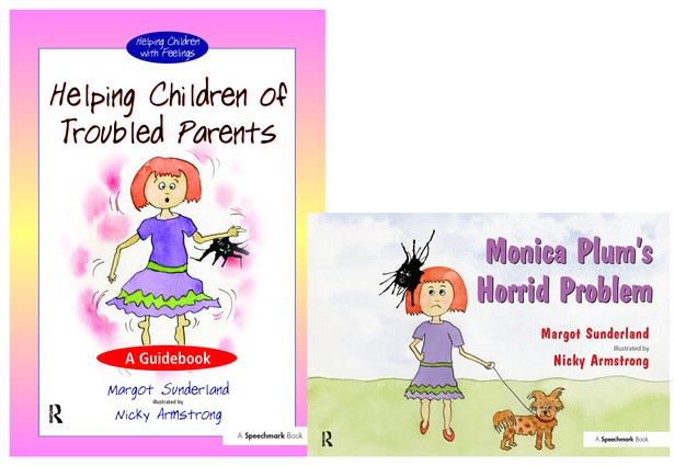 Helping Children of Troubled Parents & Monica Plum's Horrid Problem: Set book cover