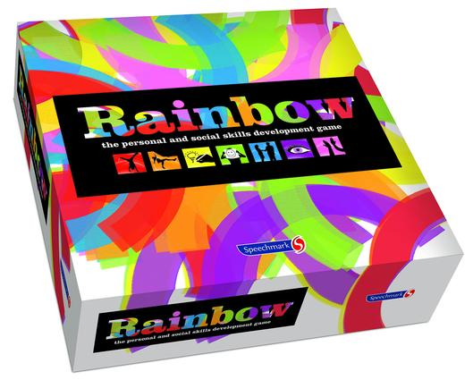 The Rainbow Game: 1st Edition (Games) book cover