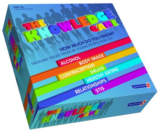 The Knowledge Game: 7 Games Exploring Health Issues Affecing All Young People, 1st Edition (Games) book cover
