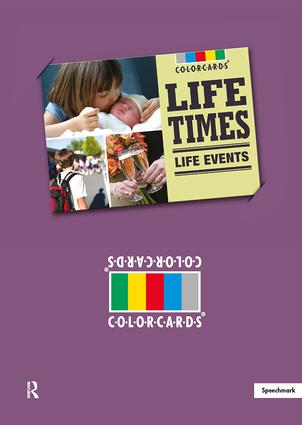 Life Times: Colorcards: Life Events, 1st Edition (Flashcards) book cover
