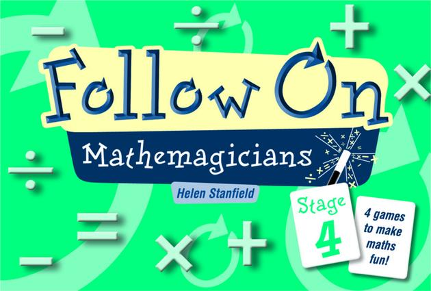 Follow on Mathemagicians: Stage 4, 1st Edition (Flashcards) book cover