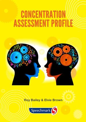 Concentration Assessment Profile: 1st Edition (CD-ROM) book cover