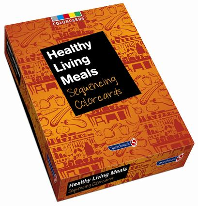 Healthy Living Meals: Colorcards: Sequencing Colorcards book cover