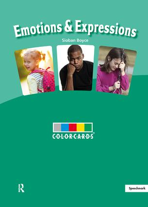 Emotions & Expressions: Colorcards: 1st Edition (Flashcards) book cover