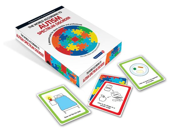 The World According to Autism Spectrum Disorder: 1st Edition (Flashcards) book cover