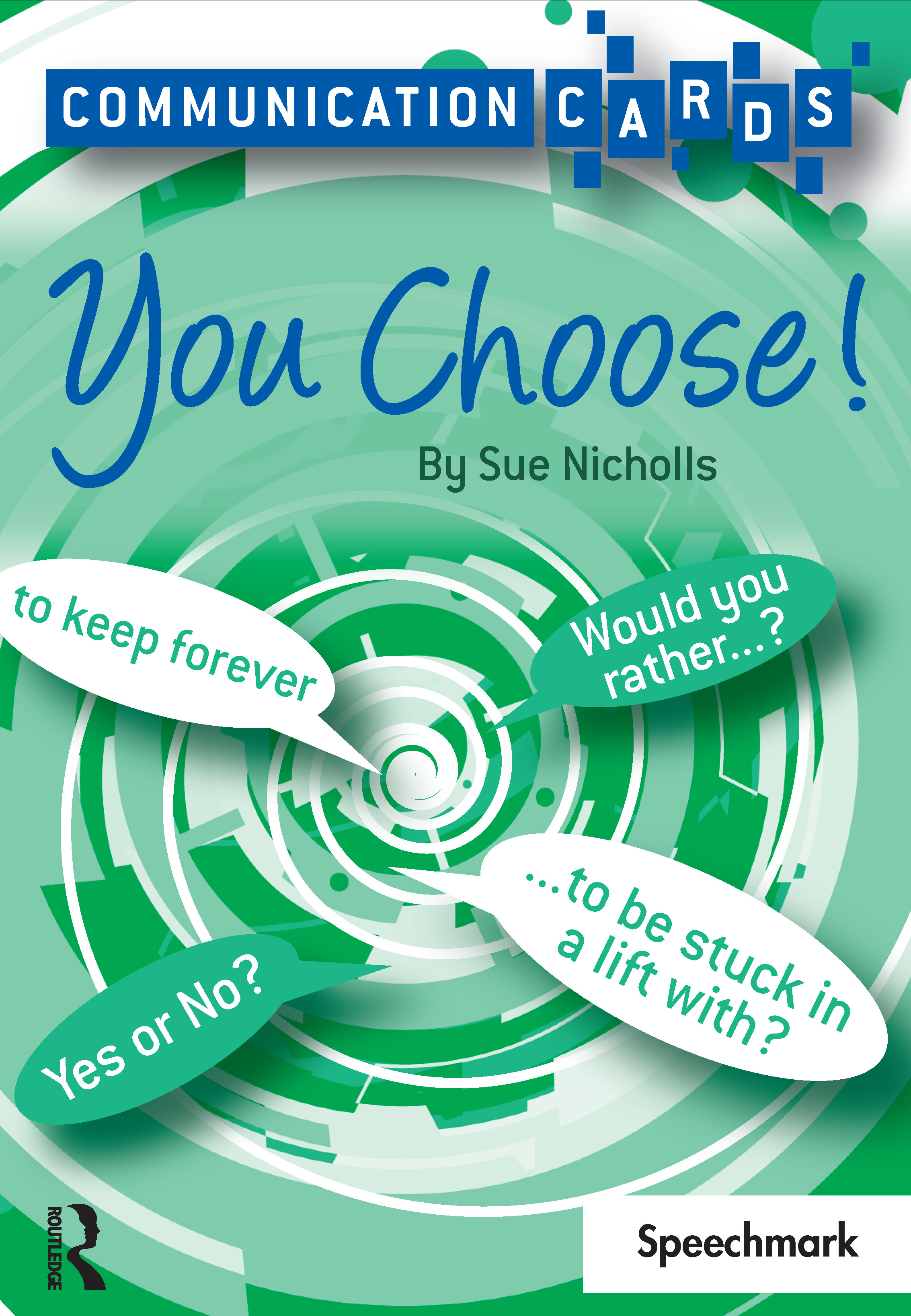 You Choose - Communication Cards: 1st Edition (Flashcards) book cover