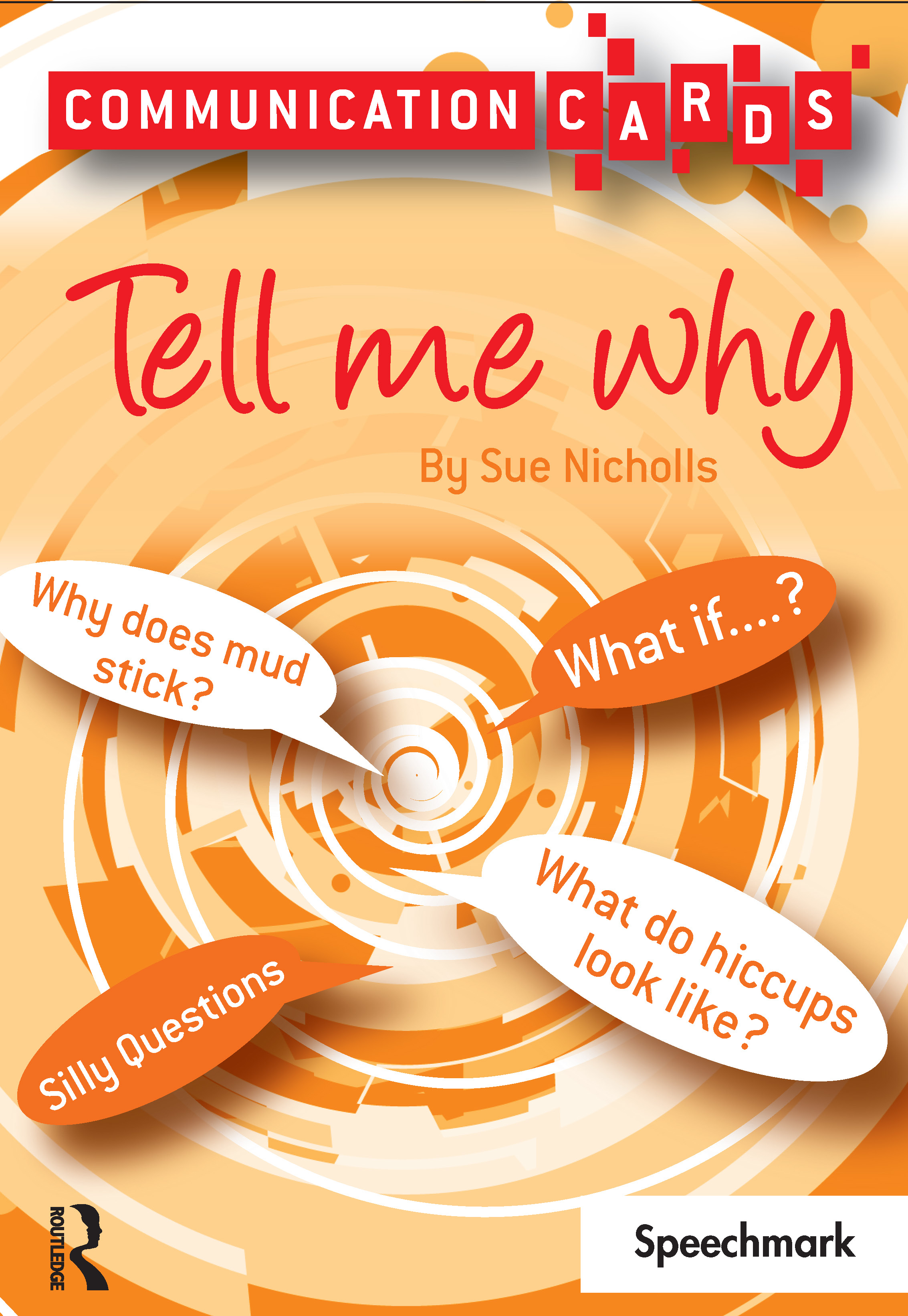 Tell Me Why: Communication Cards, 1st Edition (Flashcards) book cover