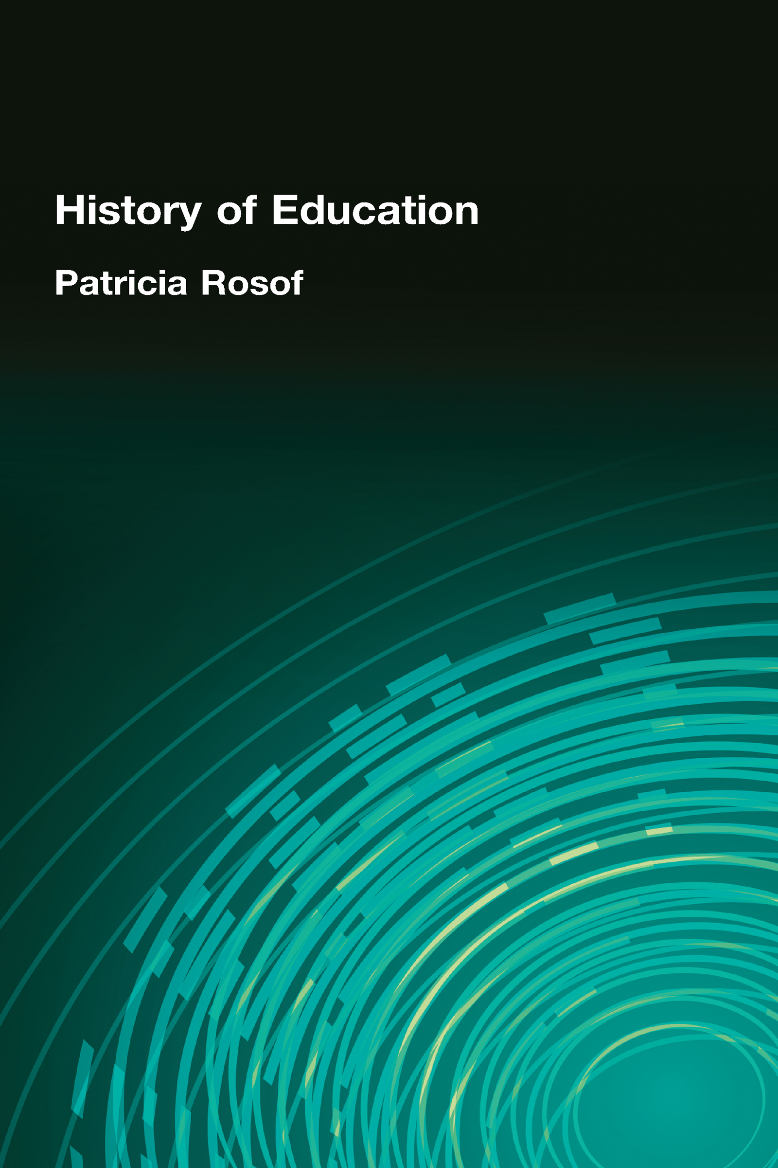 History of Education (Hardback) book cover