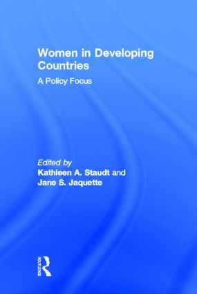 Women in Developing Countries: A Policy Focus (Hardback) book cover