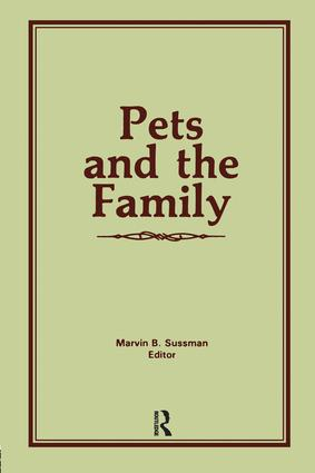 Pets and the Family (Paperback) book cover