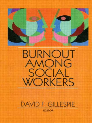 Burnout Among Social Workers (Hardback) book cover