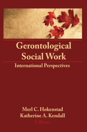 Gerontological Social Work: International Perspectives (Hardback) book cover