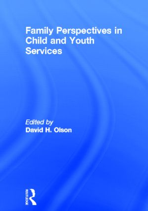 Family Perspectives in Child and Youth Services: 1st Edition (Hardback) book cover