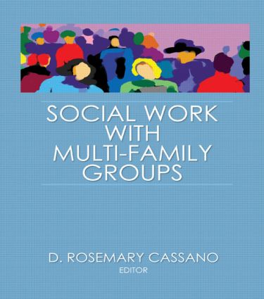 Social Work With Multi-Family Groups: 1st Edition (Hardback) book cover