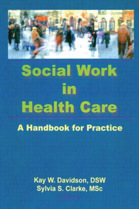 Social Work in Health Care: A Handbook for Practice (Paperback) book cover