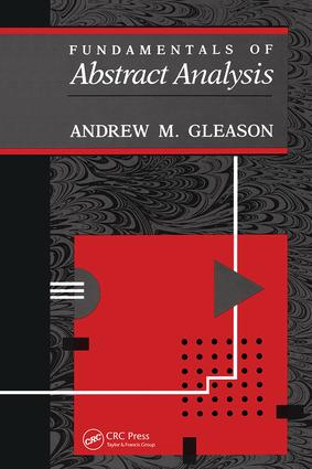 Fundamentals of Abstract Analysis: 1st Edition (Hardback) book cover