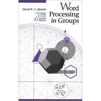 Word Processing in Groups: 1st Edition (Hardback) book cover