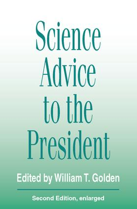Science Advice to the President: 2nd Edition (Paperback) book cover