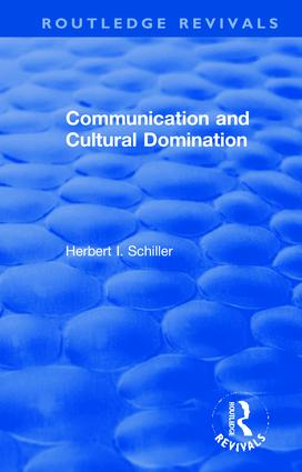 Revival: Communication and Cultural Domination (1976) book cover