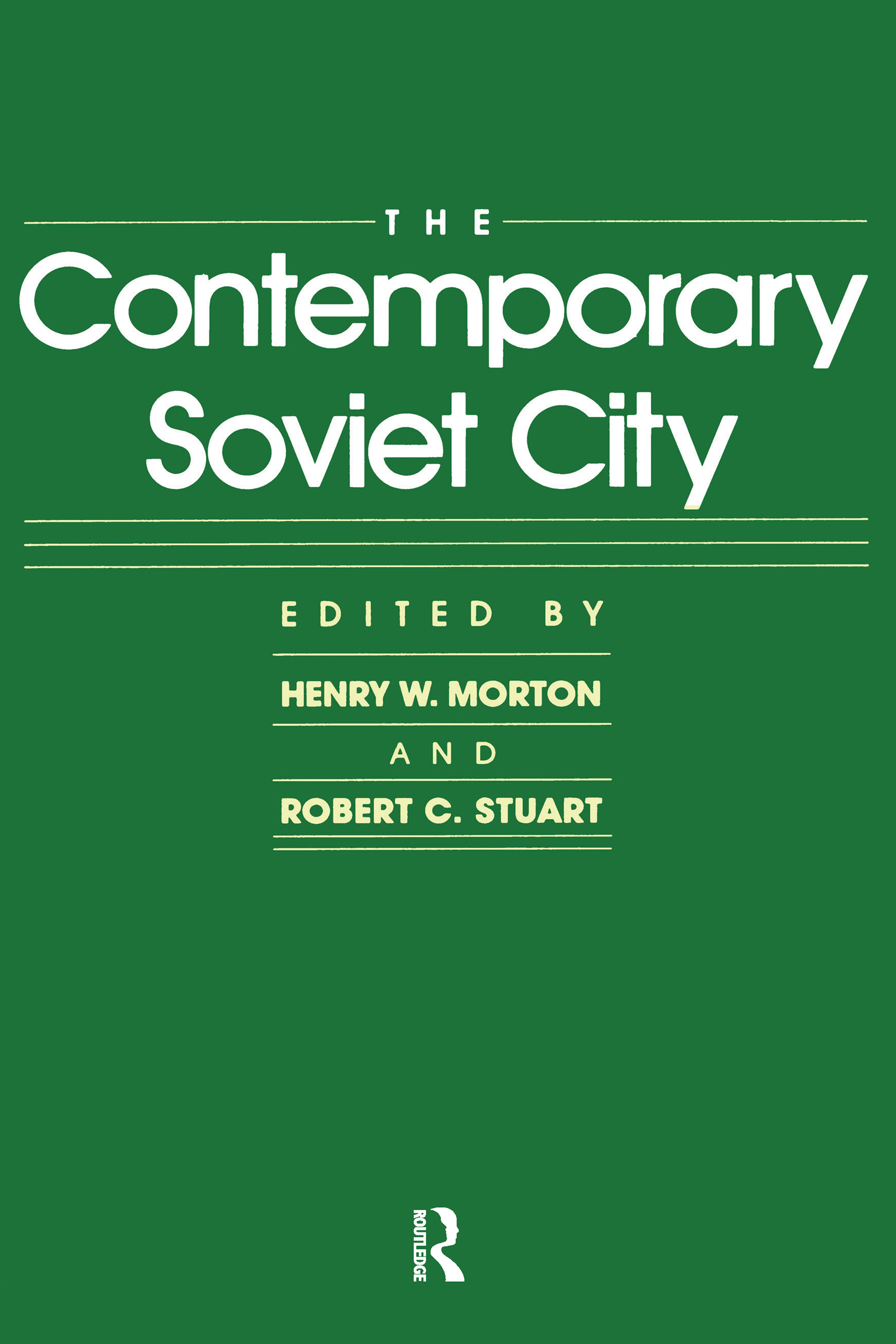 The Contemporary Soviet City book cover