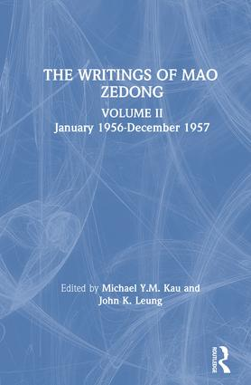 The Writings: v. 2: January 1956-December 1957: 1st Edition (Hardback) book cover