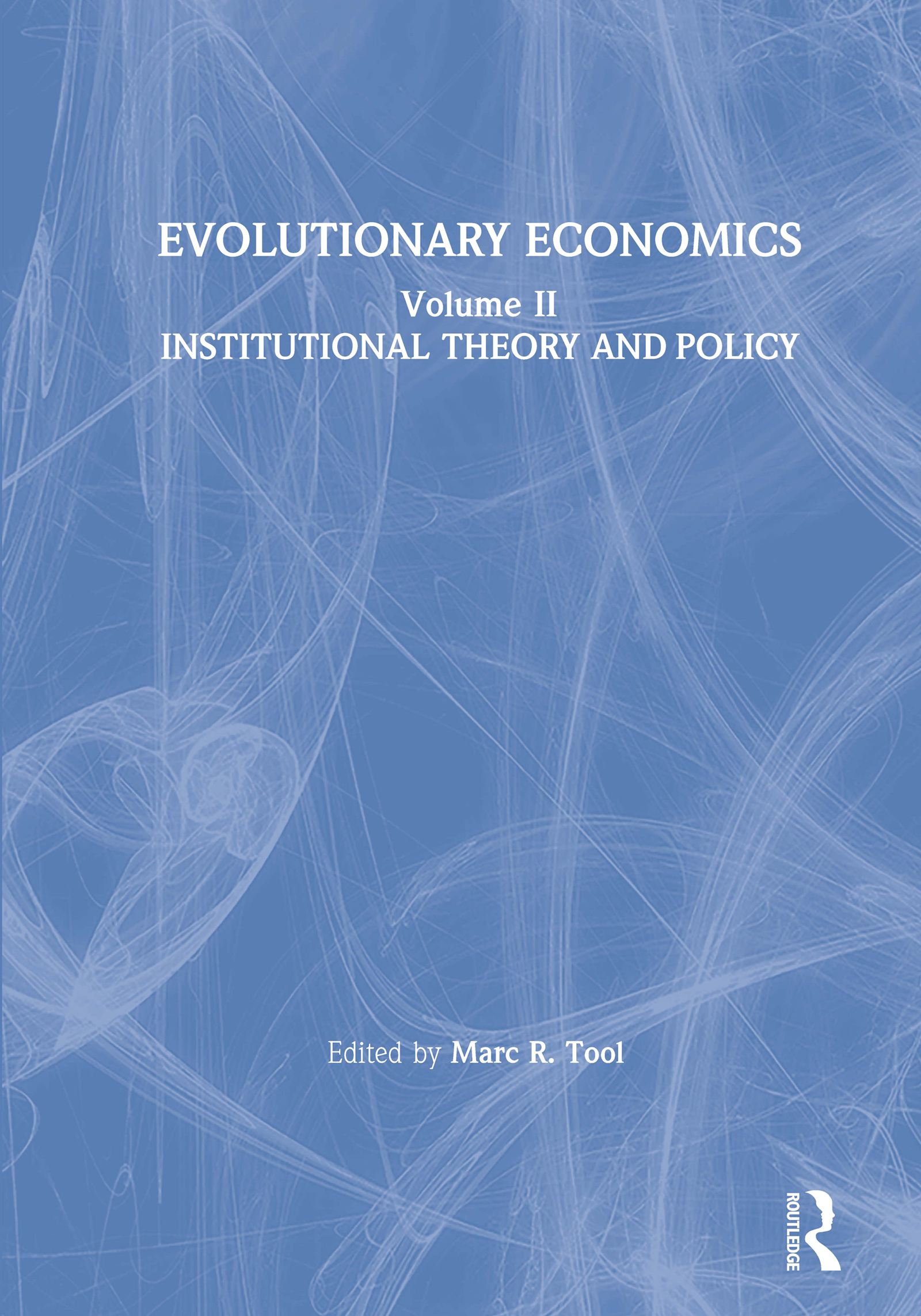 Evolutionary Economics: v. 2: 1st Edition (Hardback) book cover