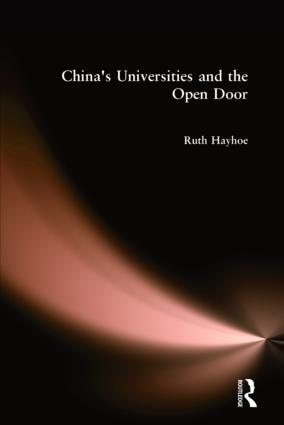 China's Universities and the Open Door: 1st Edition (Hardback) book cover