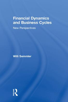 Financial Dynamics and Business Cycles: New Perspectives, 1st Edition (Paperback) book cover