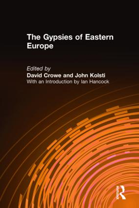 The Gypsies of Eastern Europe: 1st Edition (Paperback) book cover