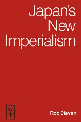 Japan's New Imperialism: 1st Edition (Hardback) book cover