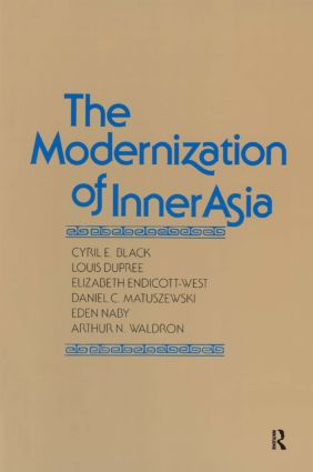 The Modernization of Inner Asia: 1st Edition (Paperback) book cover
