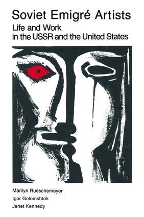 Soviet Emigre Artists: 1st Edition (e-Book) book cover