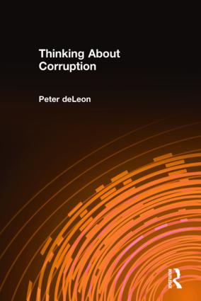 Thinking About Corruption: 1st Edition (Hardback) book cover