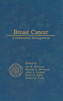 Breast Cancer Collaborative Management: 1st Edition (Hardback) book cover