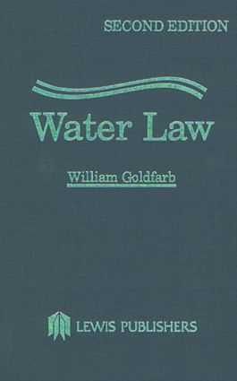 Water Law: 2nd Edition (Hardback) book cover
