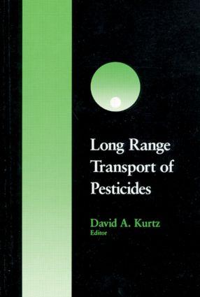 Long Range Transport of Pesticides: 1st Edition (Hardback) book cover