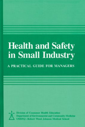 Health and Safety in Small Industry: 1st Edition (Hardback) book cover