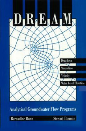 Dream-Analytical Ground Water Flow Programs: 1st Edition (Hardback) book cover