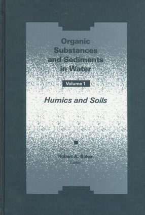 Organic Substances and Sediments in Water, Volume I: 1st Edition (Hardback) book cover