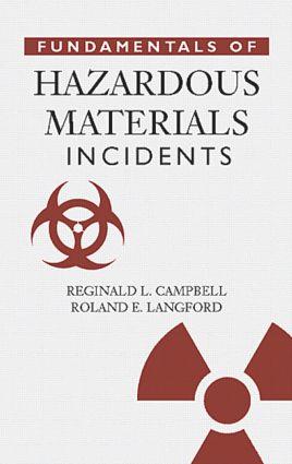 Fundamentals of Hazardous Materials Incidents: 1st Edition (Hardback) book cover