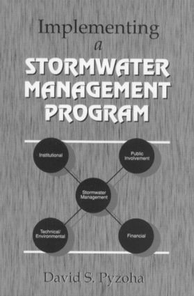 Implementing a Stormwater Management Program: 1st Edition (Hardback) book cover