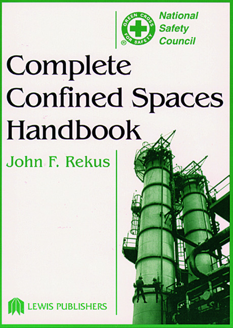 Complete Confined Spaces Handbook: 1st Edition (e-Book) book cover