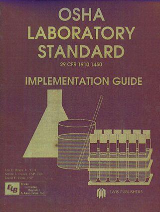 Osha Laboratory Standard - Implementation Guide book cover