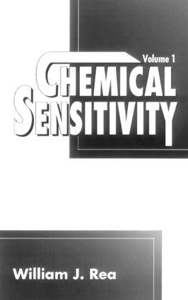 Chemical Sensitivity, Volume I: 1st Edition (Hardback) book cover