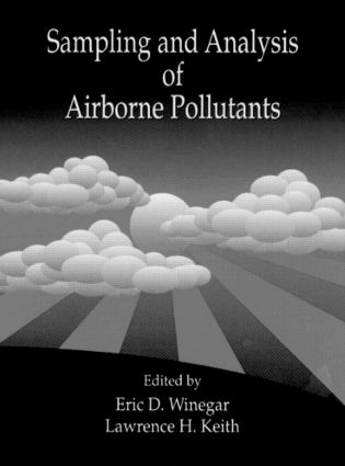 Sampling and Analysis of Airborne Pollutants: 1st Edition (Hardback) book cover