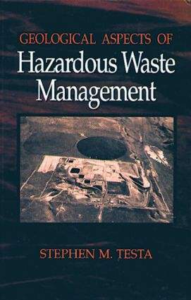Geological Aspects of Hazardous Waste Management: 1st Edition (Hardback) book cover