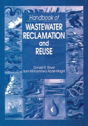 Handbook of Wastewater Reclamation and Reuse: 1st Edition (Hardback) book cover