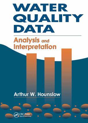 Water Quality Data: Analysis and Interpretation, 1st Edition (Hardback) book cover